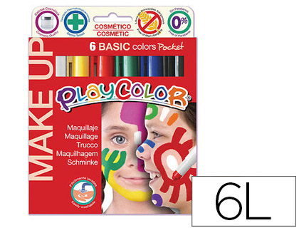 BARRA DE MAQUILLAJE PLAYCOLOR MAKE ...