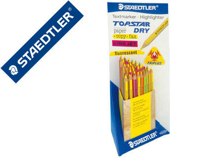 LAPICES FLUORESCENTE STAEDTLER TOP ...