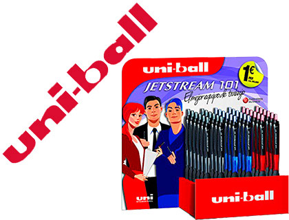 BOLIGRAFO UNI-BALL JETSTREAM RETRAC...