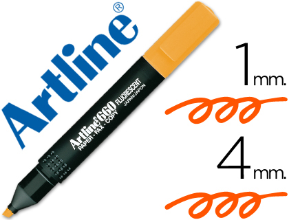 ROTULADOR ARTLINE FLUORESCENTEEK-66...