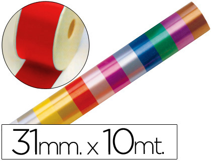 CINTA FANTASIA 10 MT X 31 MM ROJO