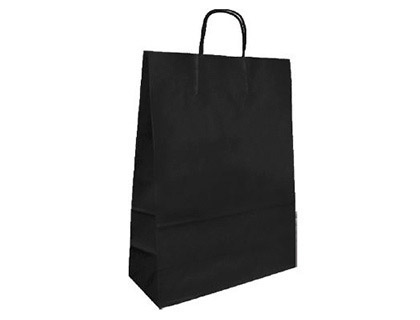 BOLSA KRAFT Q-CONNECT NEGRO ASA RET...
