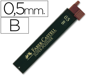 MINAS FABER GRAFITO 9065 0,5 MM B -...