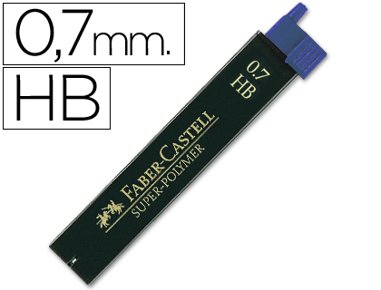 MINAS FABER GRAFITO 9067 0,7 MM HB ...