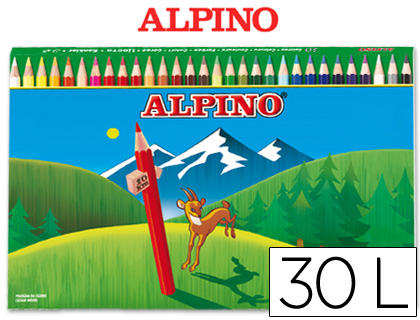 LAPICES DE COLORES ALPINO 659 30 CO...