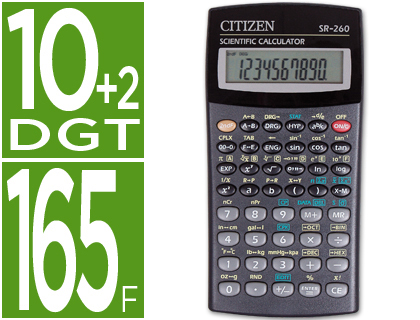 CALCULADORA CITIZEN CIENTIFICASR-26...