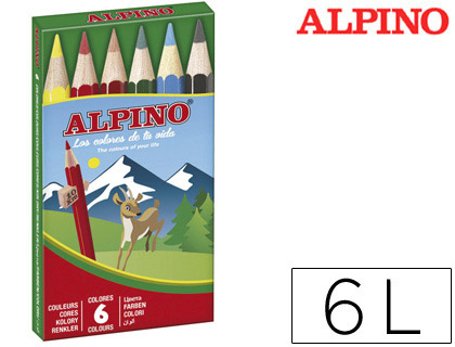 LAPICES DE COLORES ALPINO 651 C/DE ...