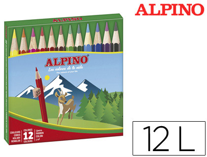 LAPICES DE COLORES ALPINO 652 C/ DE...