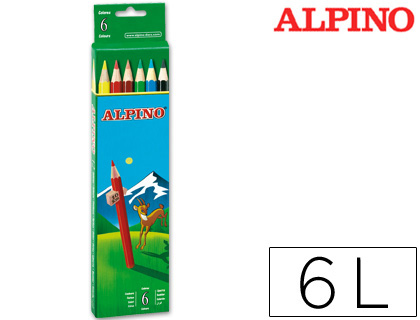 LAPICES DE COLORES ALPINO 653 C/ DE...