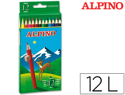 LAPICES DE COLORES ALPINO 654 C/ DE...