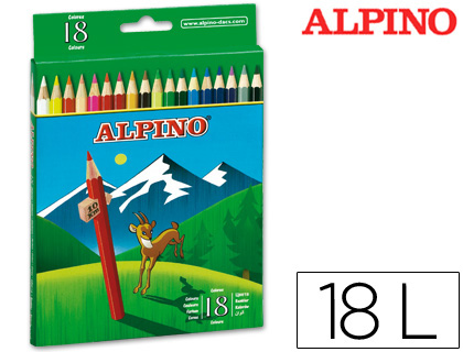 LAPICES DE COLORES ALPINO 656 C/ DE...