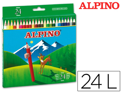 LAPICES DE COLORES ALPINO 658 C/ DE...
