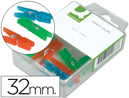 PINZA FANTASIA Q-CONNECT -32 MM -CA...