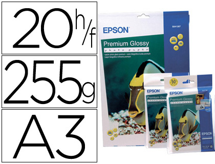 PAPEL EPSON PREMIUM GLOSSY PHOTO PA...