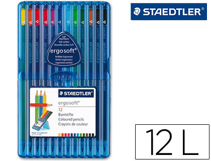 LAPICES DE COLOR STAEDTLER ERGOSOFT...