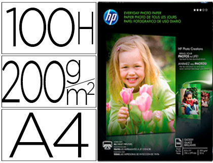 PAPEL HP PHOTO SEMI-GLOSSY 200G/M2 ...