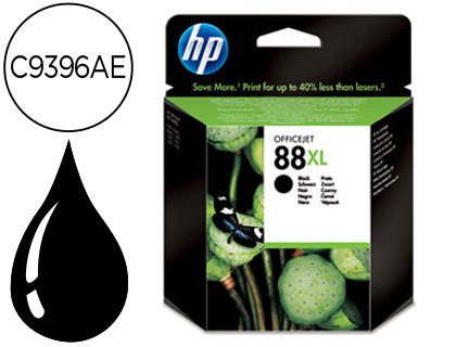 INK-JET HP 88XL NEGRO 2.450PAG OFFI...