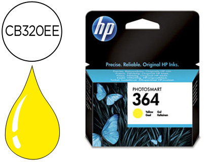 INK-JET HP 364 AMARILLO PHOTOSMART ...