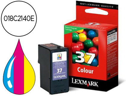 INK-JET LEXMARK 37 COLOR RETORNABLE