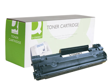 TONER Q-CONNECT COMPATIBLE HP CB435...