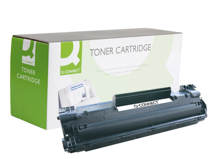 TONER Q-CONNECT COMPATIBLE HP CB436...