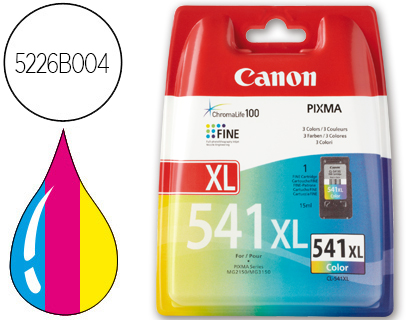 INK-JET CANON CL-541XL COLOR PIXMA ...