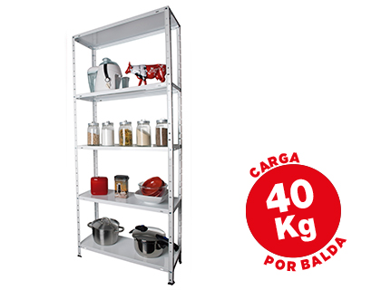 ESTANTERIA METALICA AR STORAGE170X7...