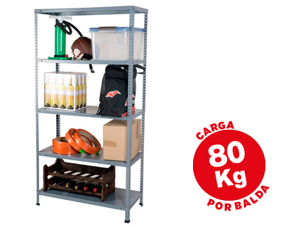 ESTANTERIA METALICA AR STORAGE180X9...