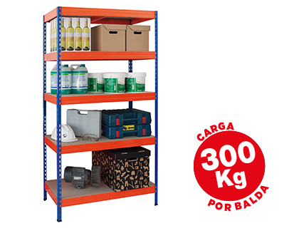 ESTANTERIA METALICA AR STORAGE192X1...
