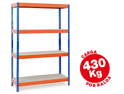 ESTANTERIA METALICA AR STORAGE200X1...