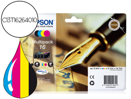 INK-JET EPSON 16 MULTIPACK WORKFORC...