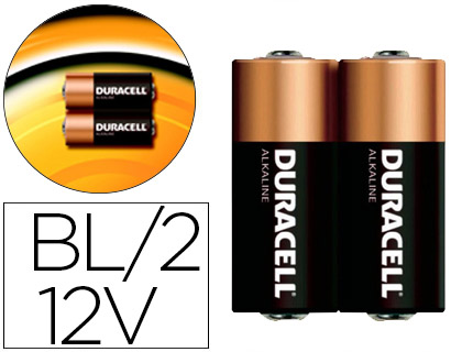 PILA DURACELL ALCALINA SECURITY PAR...
