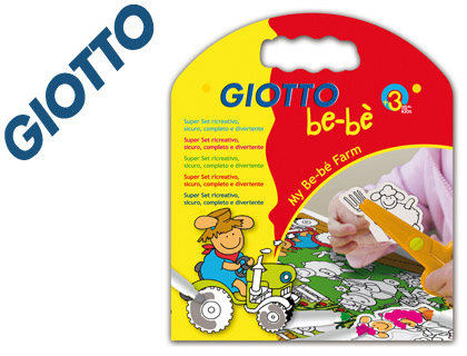 SET GIOTTO BE-BE MY BE-BE FARM ROTU...