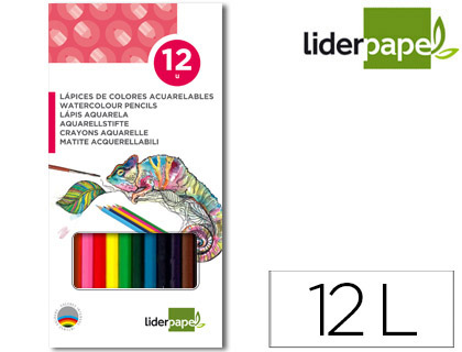 LAPICES DE COLORES ACUARELABLES LID...