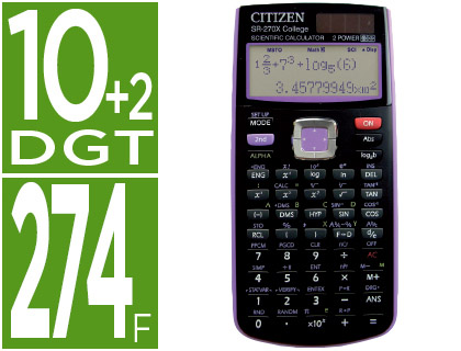 CALCULADORA CITIZEN CIENTIFICA SR-2...
